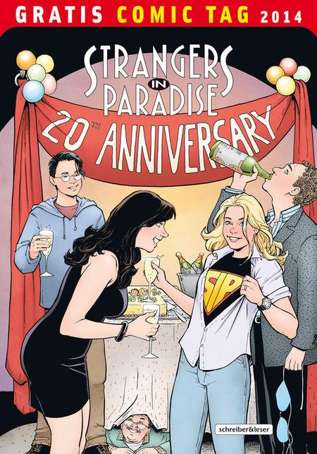 Strangers in Paradise - Episode 1 - Gratis Comic Tag 2014 - Das Cover