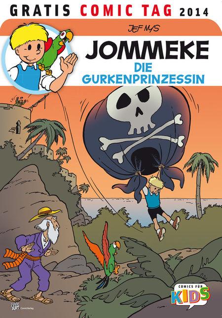 Jommeke - Gratis Comic Tag 2014 - Das Cover