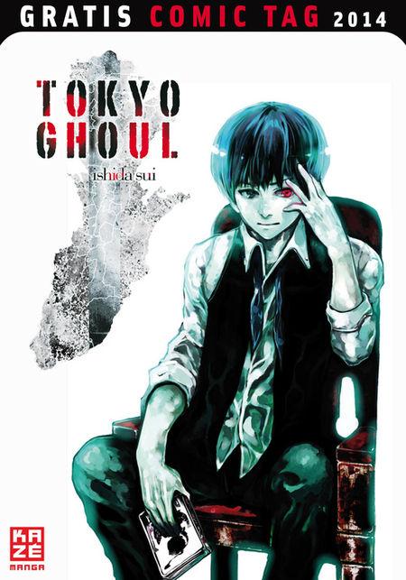 Tokyo Ghoul - Gratis Comic Tag 2014 - Das Cover
