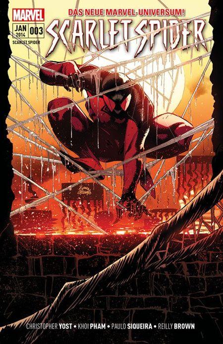 Scarlet Spider 3 - Das Cover