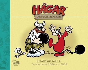 Hägar der Schreckliche - Gesamtausgabe 23 - Tagesstrips 2006 bis 2008  - Das Cover