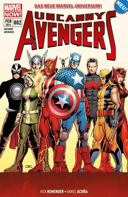 Uncanny Avengers 2: Die Apocalypse-Zwillinge - Das Cover