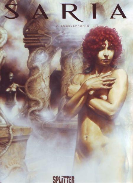 Saria 2: Engelspforte - Das Cover