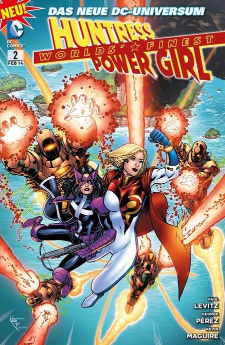 Worlds´ Finest 2: Huntress & Power Girl-Familienbande - Das Cover