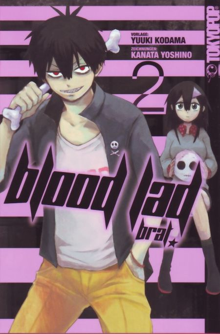Blood Lad Brat 2 - Das Cover