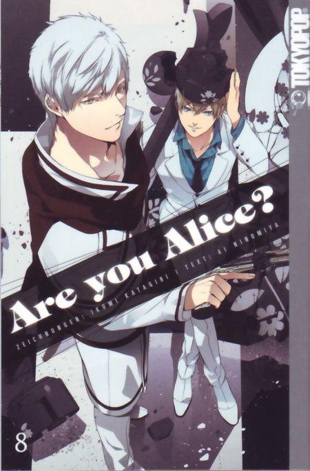 Are you Alice 8 - Das Cover