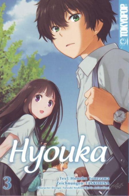Hyouka 3 - Das Cover