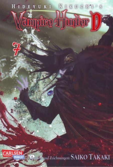 Vampire Hunter D 7 - Das Cover