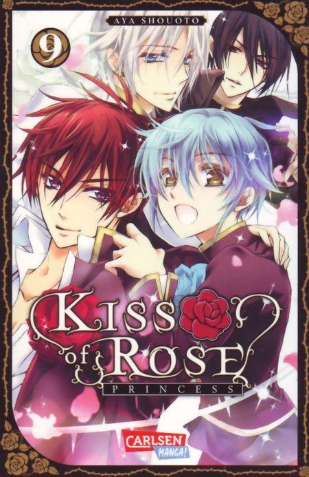 Kiss of Rose Princess 9 - Das Cover