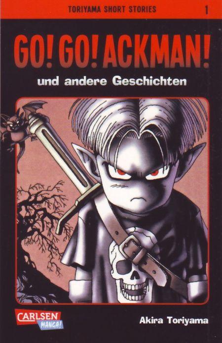 Toriyama Short Stories 1: Go!Go!Ackman! und andere Geschichten - Das Cover
