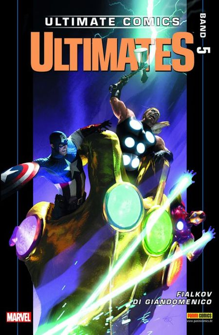 Ultimates 5 - Das Cover