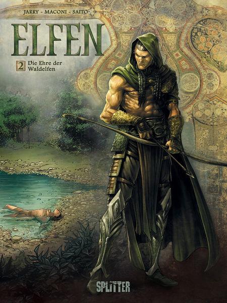 Elfen 2: Die Ehre der Waldelfen - Das Cover