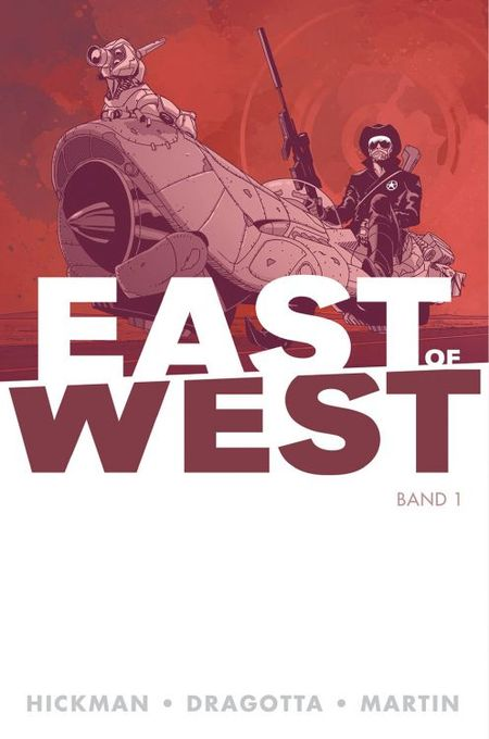 East of West 1 - Das Cover