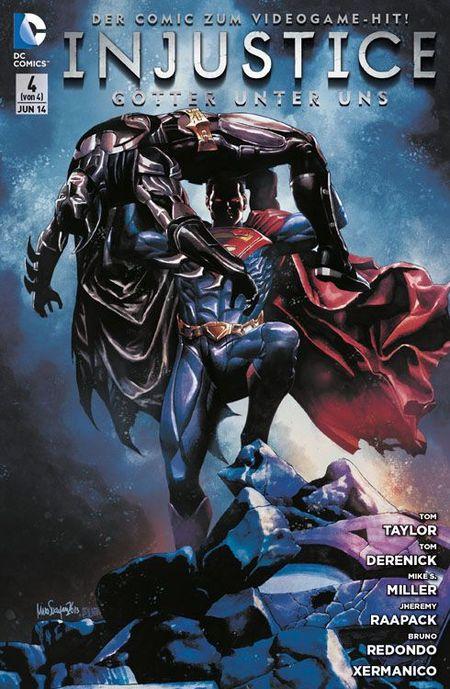 Injustice: Götter unter uns 4 - Das Cover