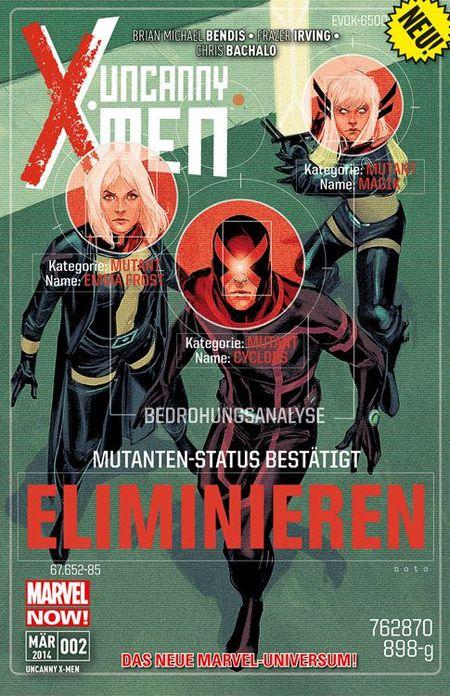 Uncanny X-Men 2 - Das Cover