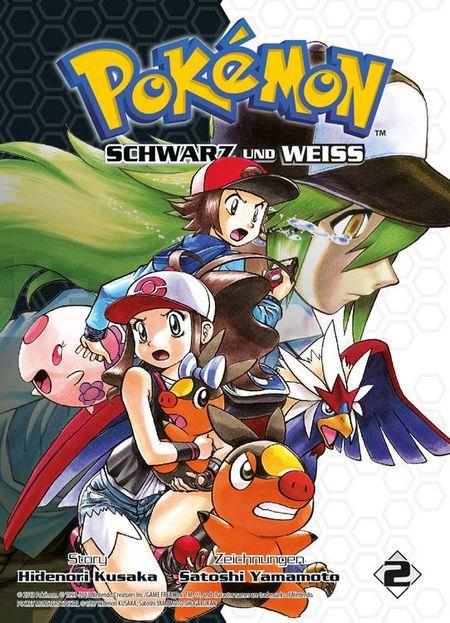 Pokémon SCHWARZ und WEISS 2 - Das Cover