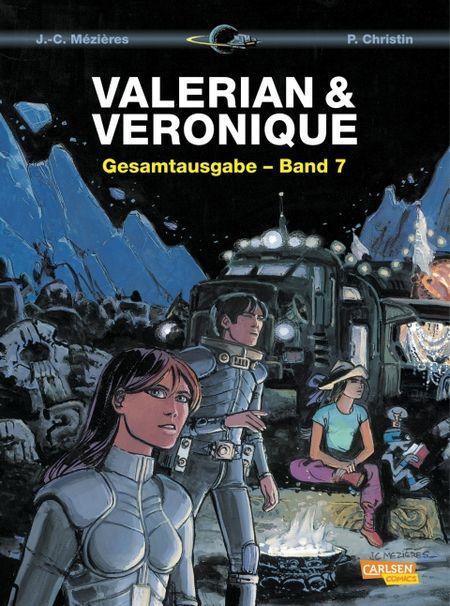 Valerian & Veronique: Gesamtausgabe-Band 7 - Das Cover