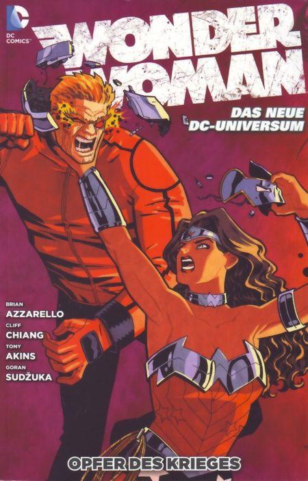 Wonder Woman 4: Opfer des Krieges - Das Cover