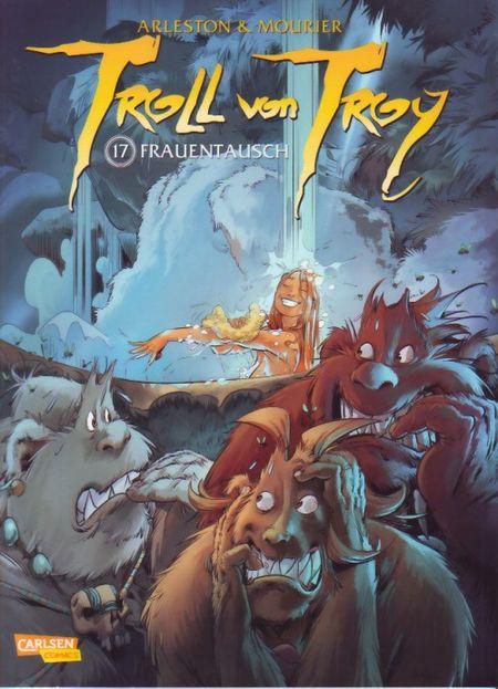 Troll von Troy 17: Frauentausch - Das Cover