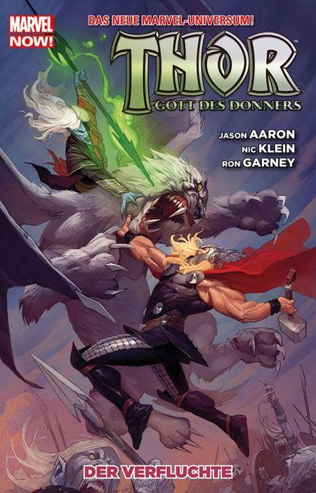 Thor - Gott des Donners 3: Der Verfluchte - Das Cover