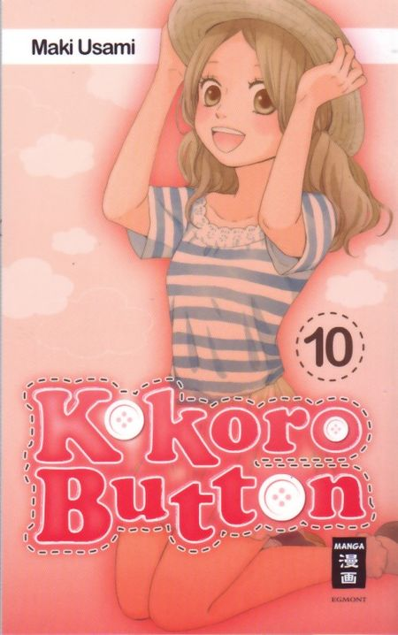 Kokoro Button 10 - Das Cover
