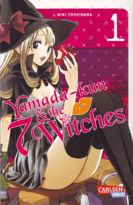 Yamada-kun & the 7 Witches 1 - Das Cover