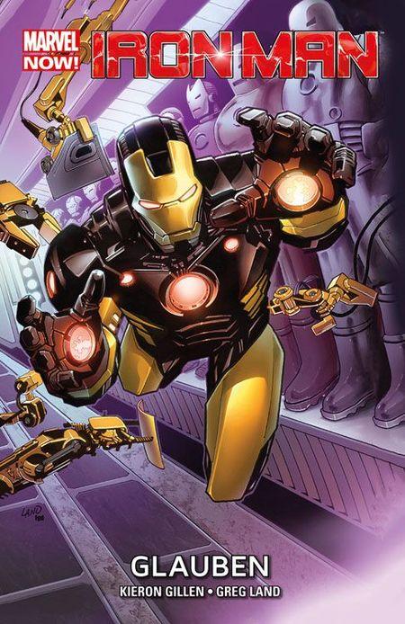 Marvel Now Paperback: Iron Man 1 - Das Cover