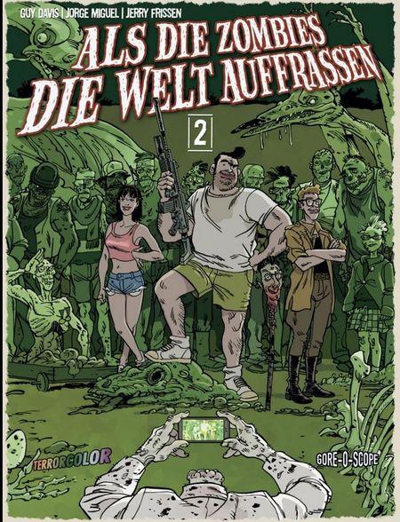 Als die Zombies die Welt auffrassen 2 - Das Cover