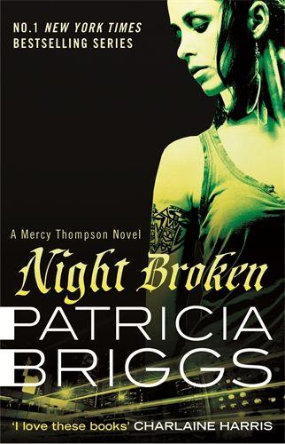 Night Broken: Mercy Thompson 8 - Das Cover