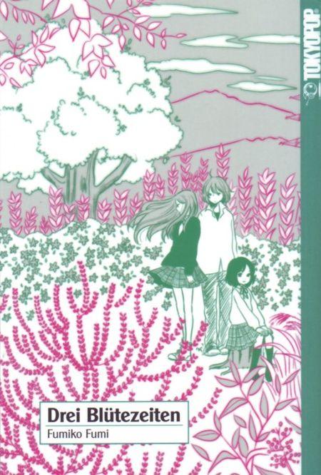 Drei Blütezeiten - Das Cover