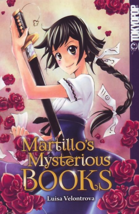 Martillo's Mysterious Books - Das Cover