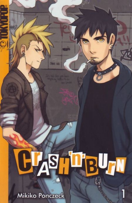 Crash'n'Burn 1 - Das Cover