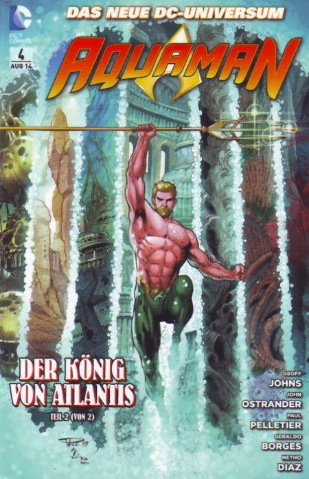 Aquaman 4: Der König von Atlantis (Teil 2 von 2) - Das Cover