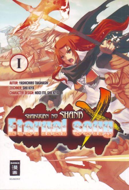 Shakugan no ShaNa X Eternal Song 1 - Das Cover