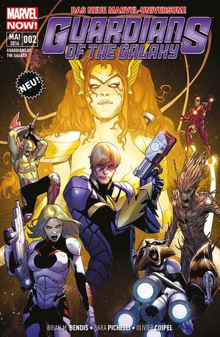 Marvel NOW! Guardians of the Galaxy 2: Kriegerin des Himmels - Das Cover