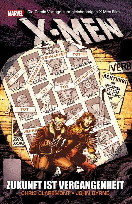 X-Men: Zukunft ist Vergangenheit - Das Cover