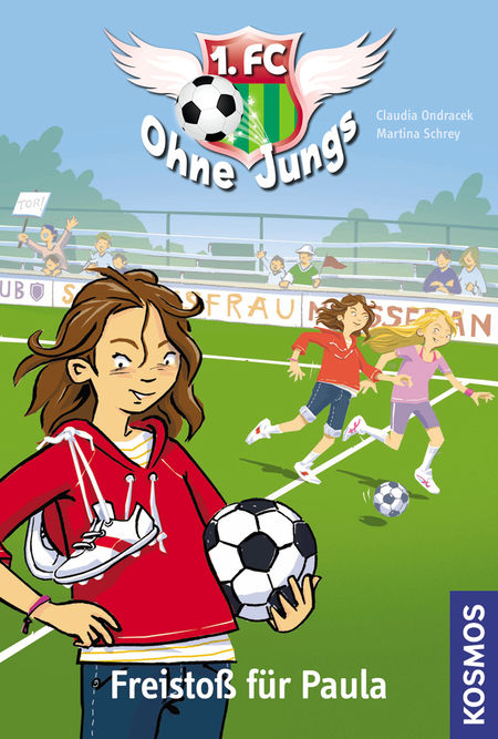 1. FC Ohne Jungs 1: Freistoß für Paula - Das Cover