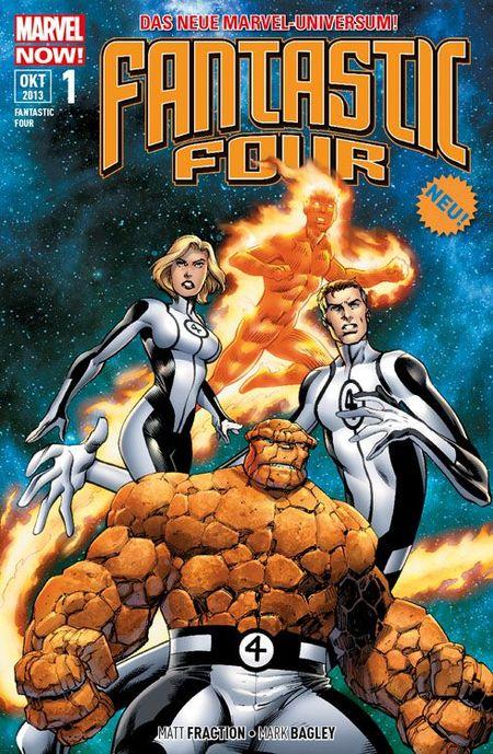 Fantastic Four 1: Reisende - Das Cover