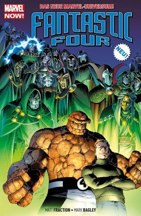Fantastic Four 2: Am Ende der Zeit - Das Cover