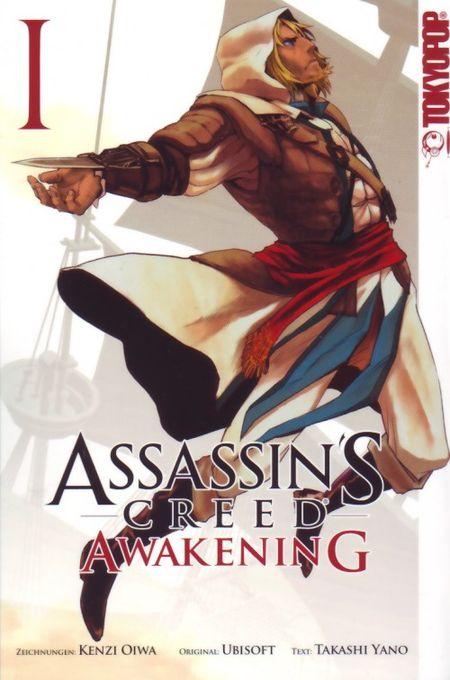Assassins Creed: Awakening 1 - Das Cover