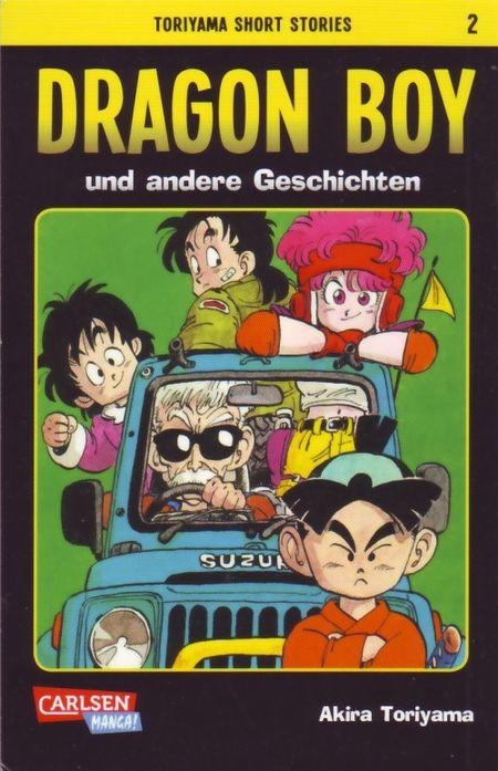 Toriyama Short Stories 2: Dragon Boy und andere Geschichten - Das Cover