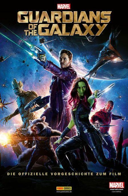 Guardians of the Galaxy: Die offizielle Vorgeschichte zum Film - Das Cover