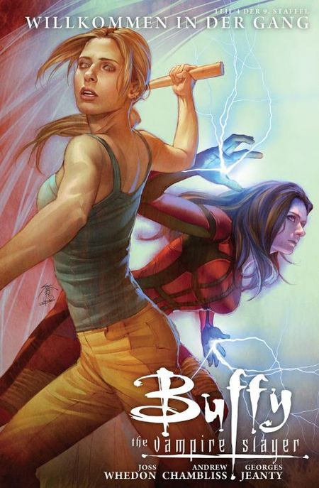 Buffy The Vampire Slayer, Staffel 9 4: Willkommen in der Gang - Das Cover