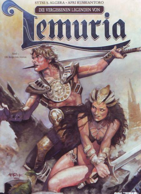 Die vergessenen Legenden von Lemuria 1: Die Berge von Moran - Das Cover