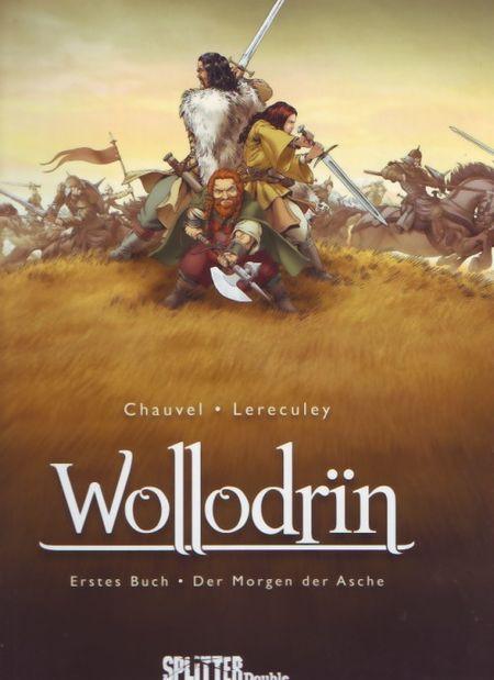 Wollodrin 1: Der Morgen der Asche - Das Cover