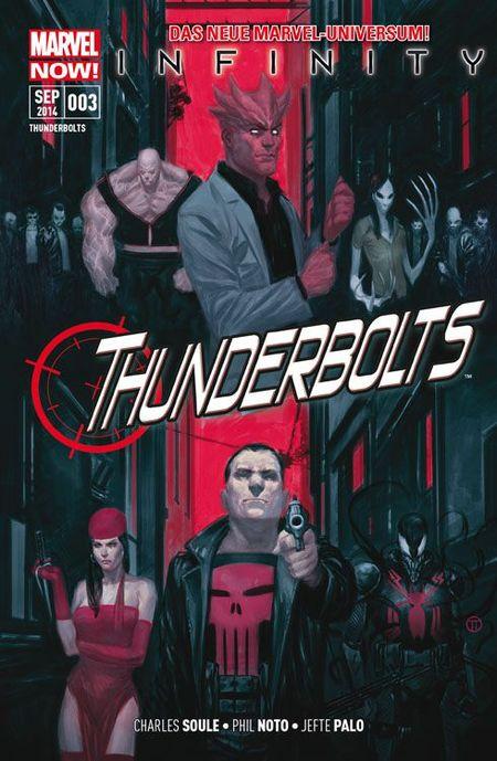 Thunderbolts 3: Alle für einen - Das Cover