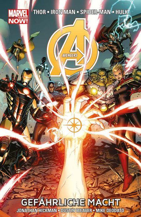 Marvel Now Paperback: Avengers 2 - Gefährliche Macht - Das Cover