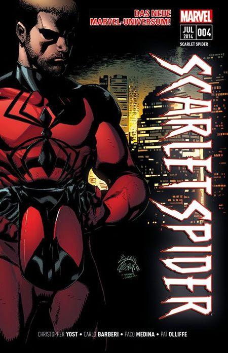 Scarlet Spider 4 - Das Cover