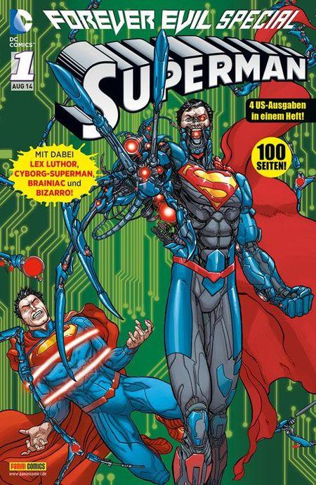 Forever Evil Special Superman 1 - Das Cover