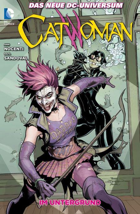Catwoman 5: Im Untergrund - Das Cover